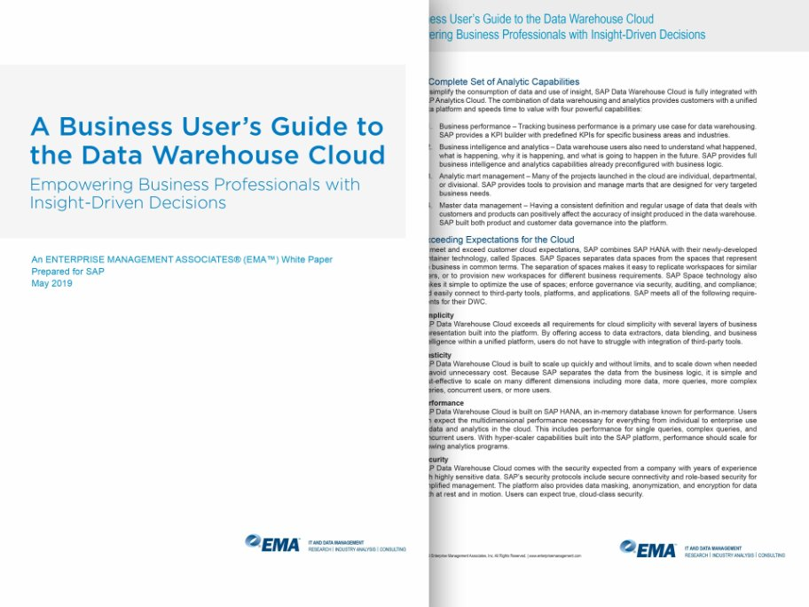 a business users guide to cloud dwh