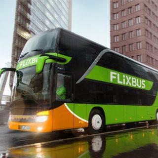 areto Referenz flixbus on the road